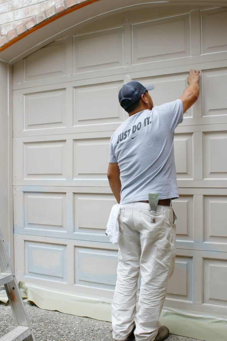 paint pro tips garage doors