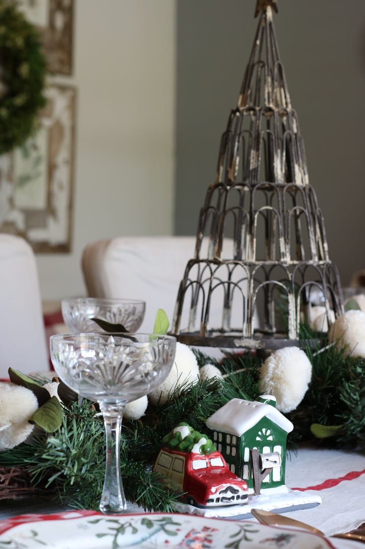 elegant creative festive table details holiday Christmas party