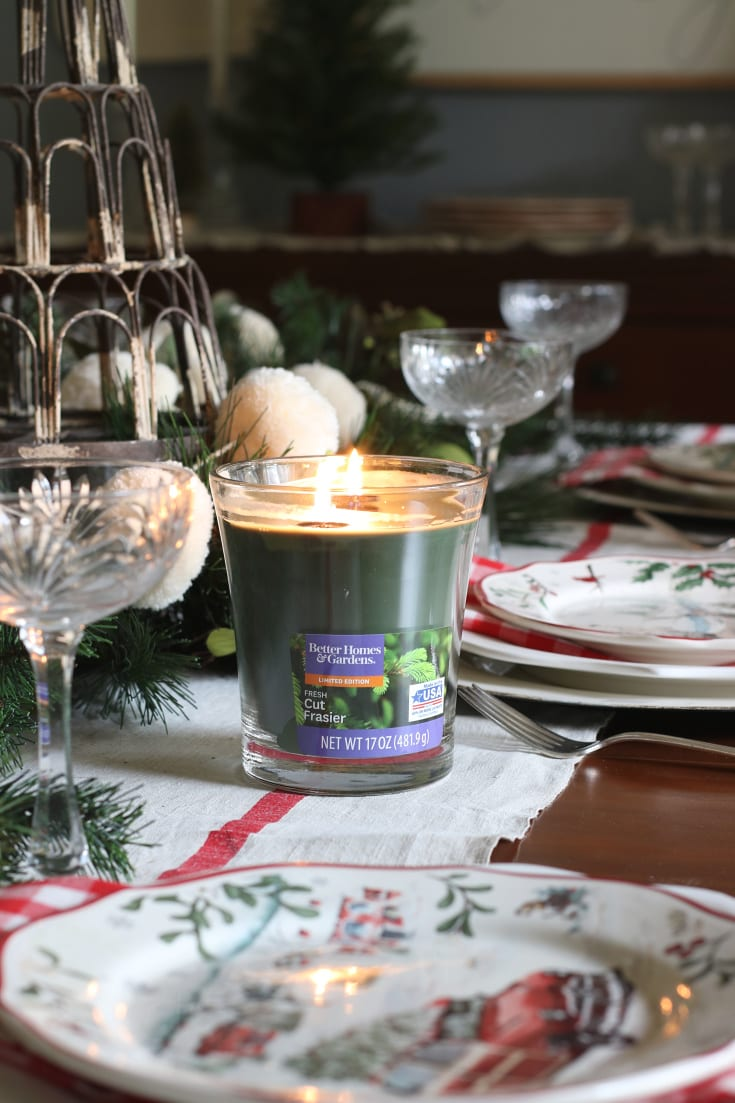 holiday home traditions decor Christmas candle