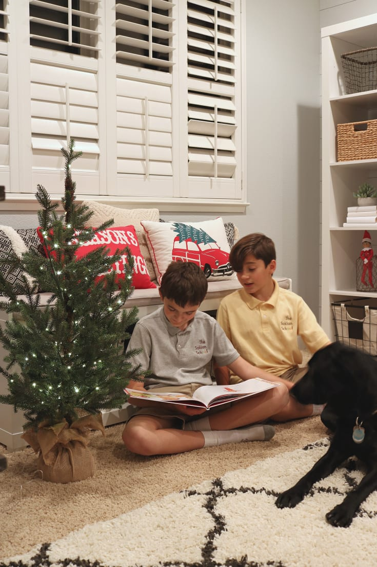 Christmas family fun reading traditions elf on the shelf