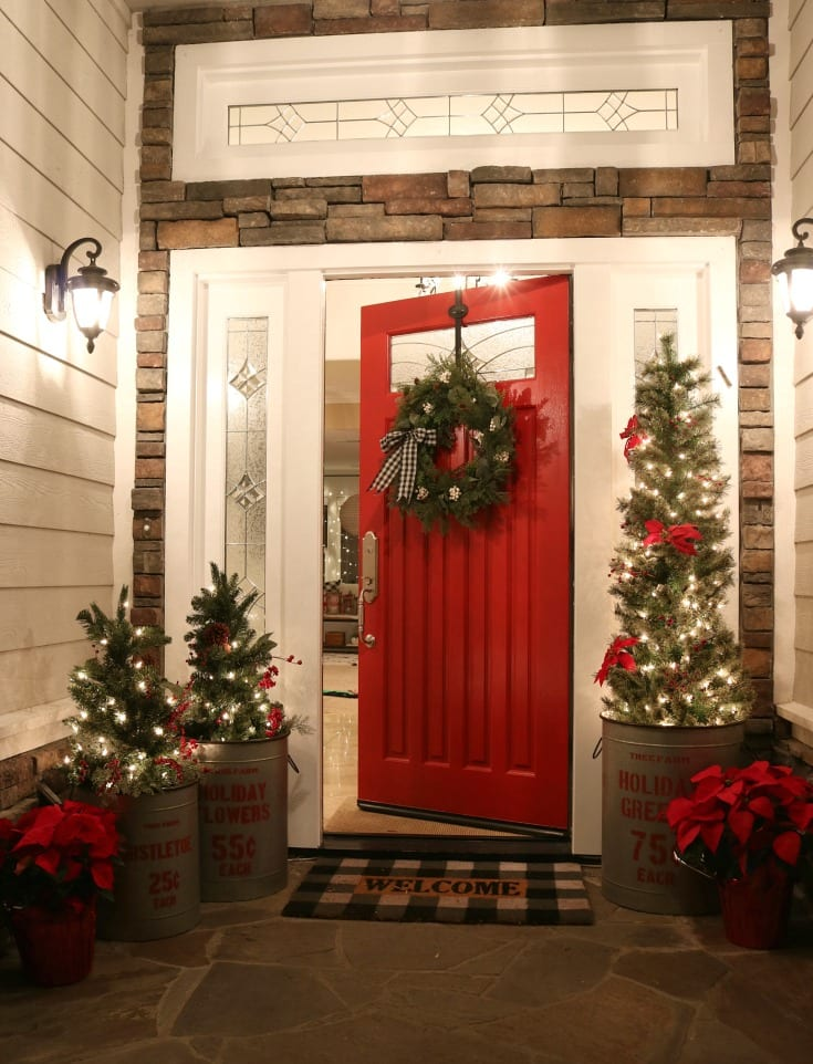 Crazy For Christmas.My Crazy For Buffalo Check Christmas Home Tour
