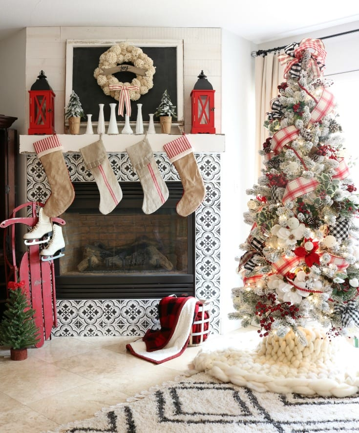 Christmas Home Tour with decorating ideas