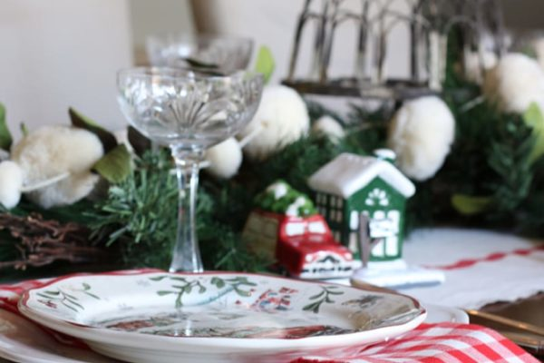 Christmas Holiday family traditions table