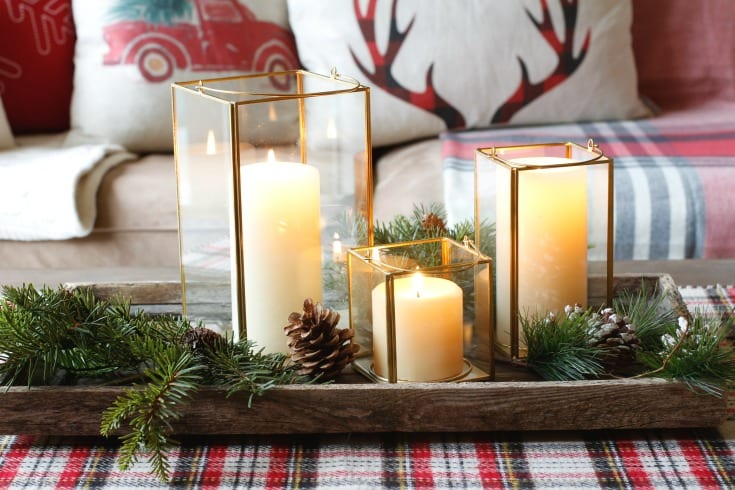 candle holiday gift idea