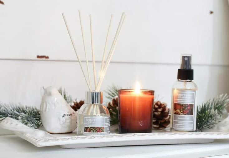 holiday home frangrance candles ad room spray