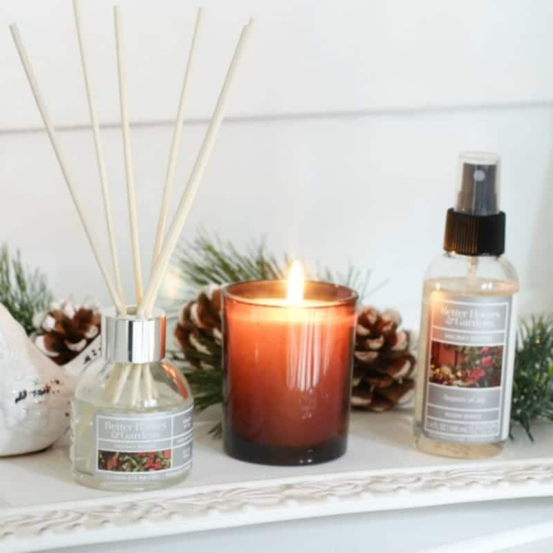 holiday scents and fragrance