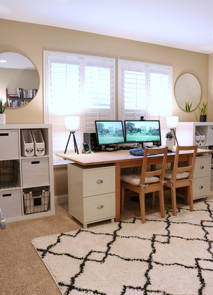 Budget Dream Home Office Organization