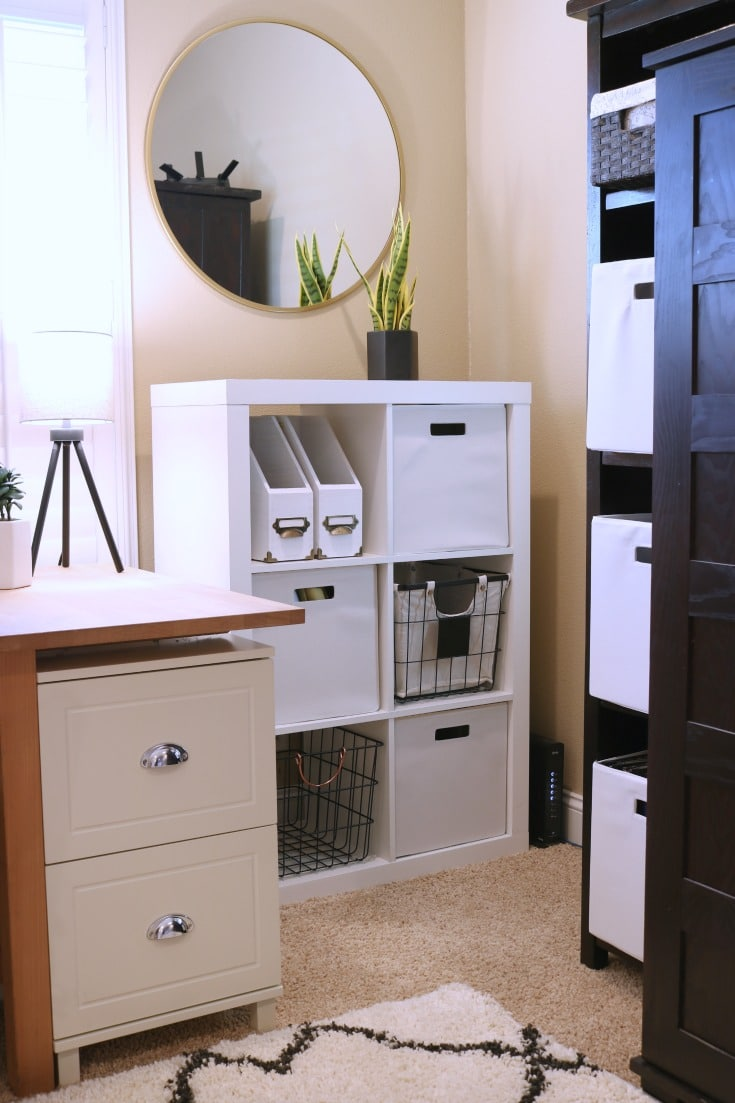 easy dream home office organization