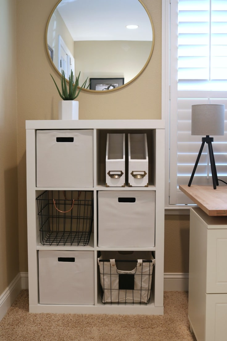Easy Budget Dream Home Office Makeover