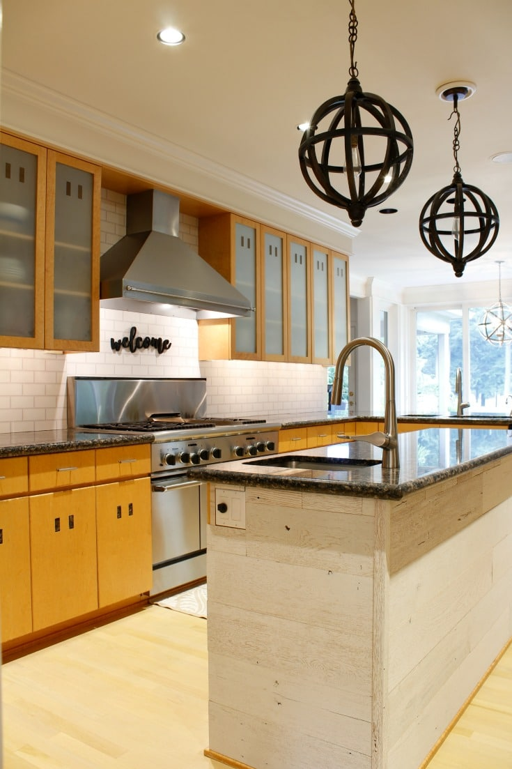 before photo kitchen pro painting tips