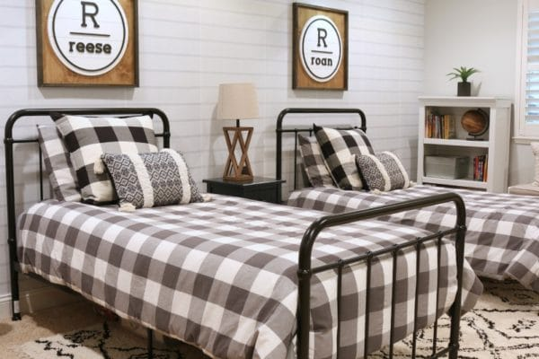create cool kids bedrooms with timeless neutral decor