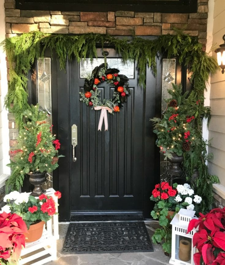 Best tips for painting How to choose colors, what paint to use. All your questions answered! Creating your best Christmas door decor.