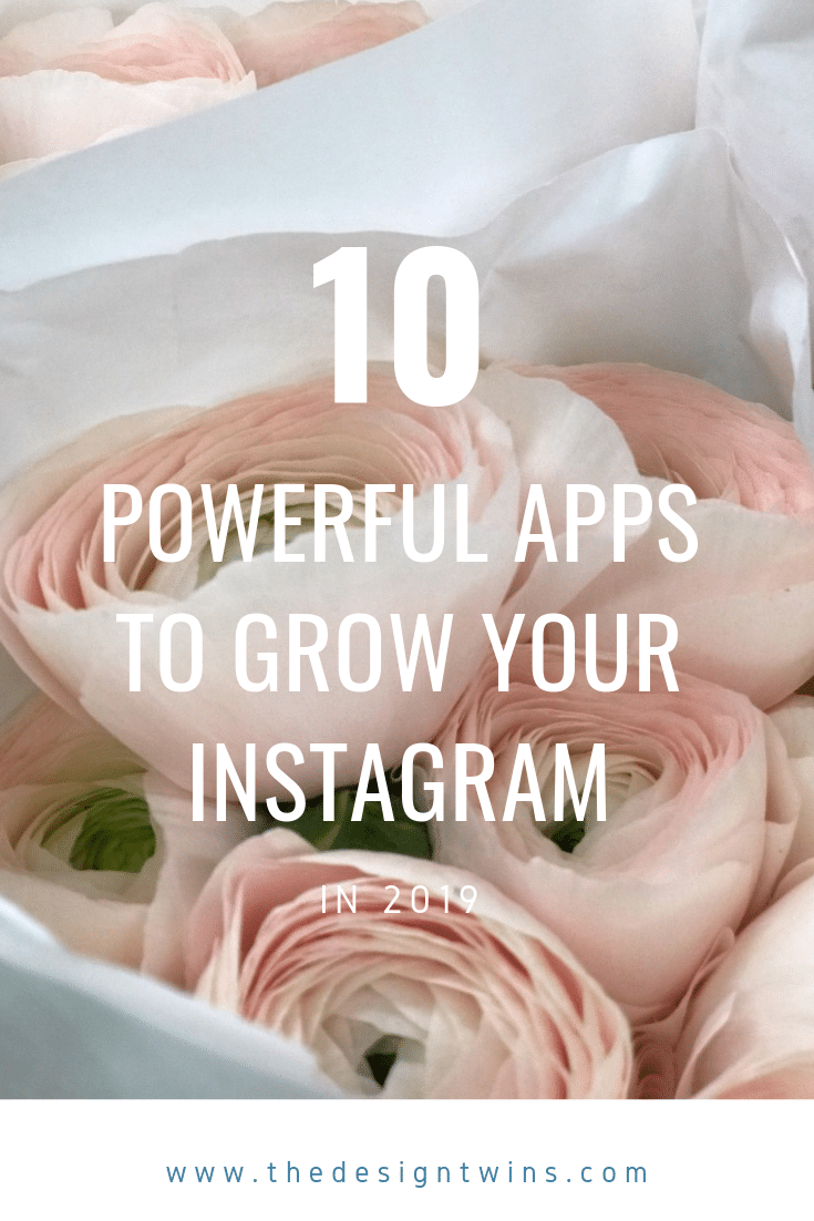 A review of the best most powerful apps to create competitive content for Instagram and take your IG account to the next level in 2019 pin