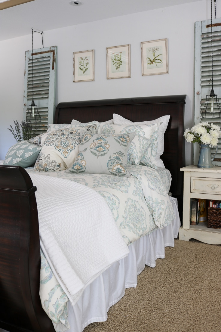 bedding refresh with beautiful bedding from The Company Store
