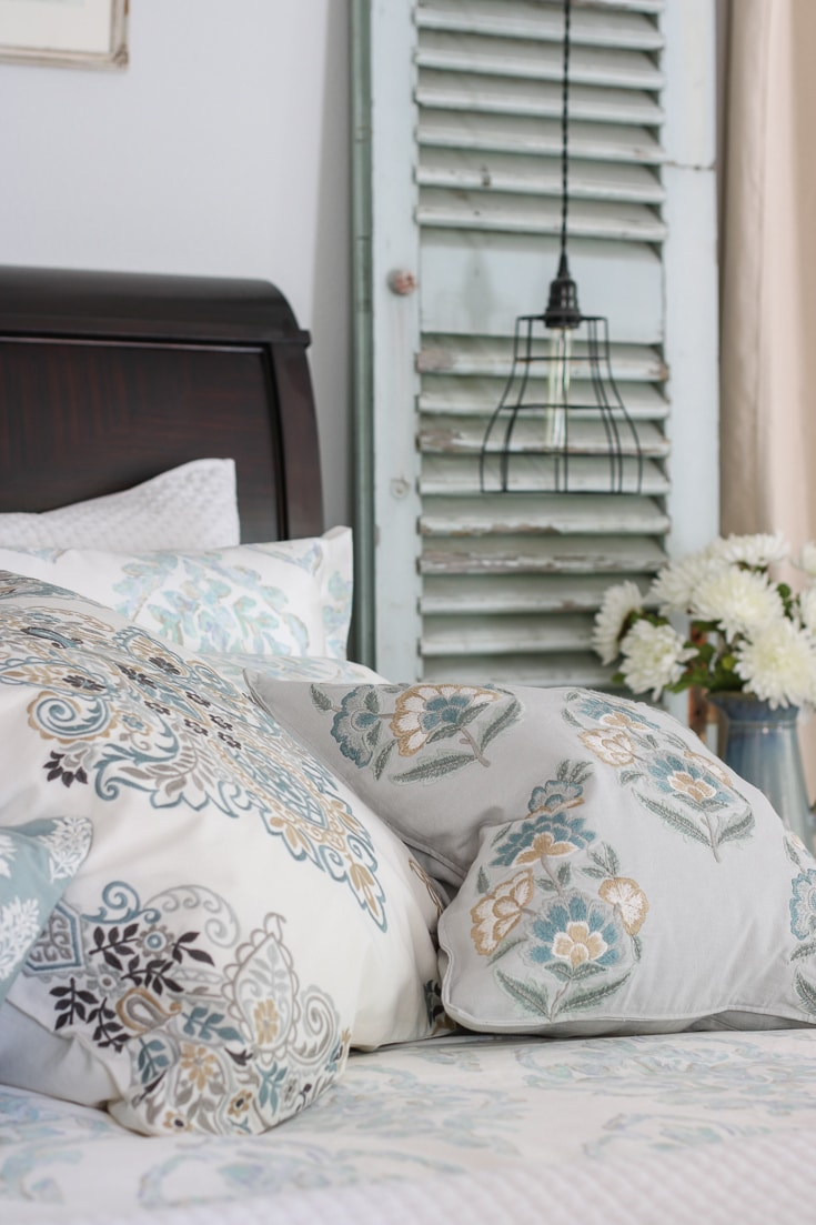 luxury pillows create beautiful finished bedding refresh