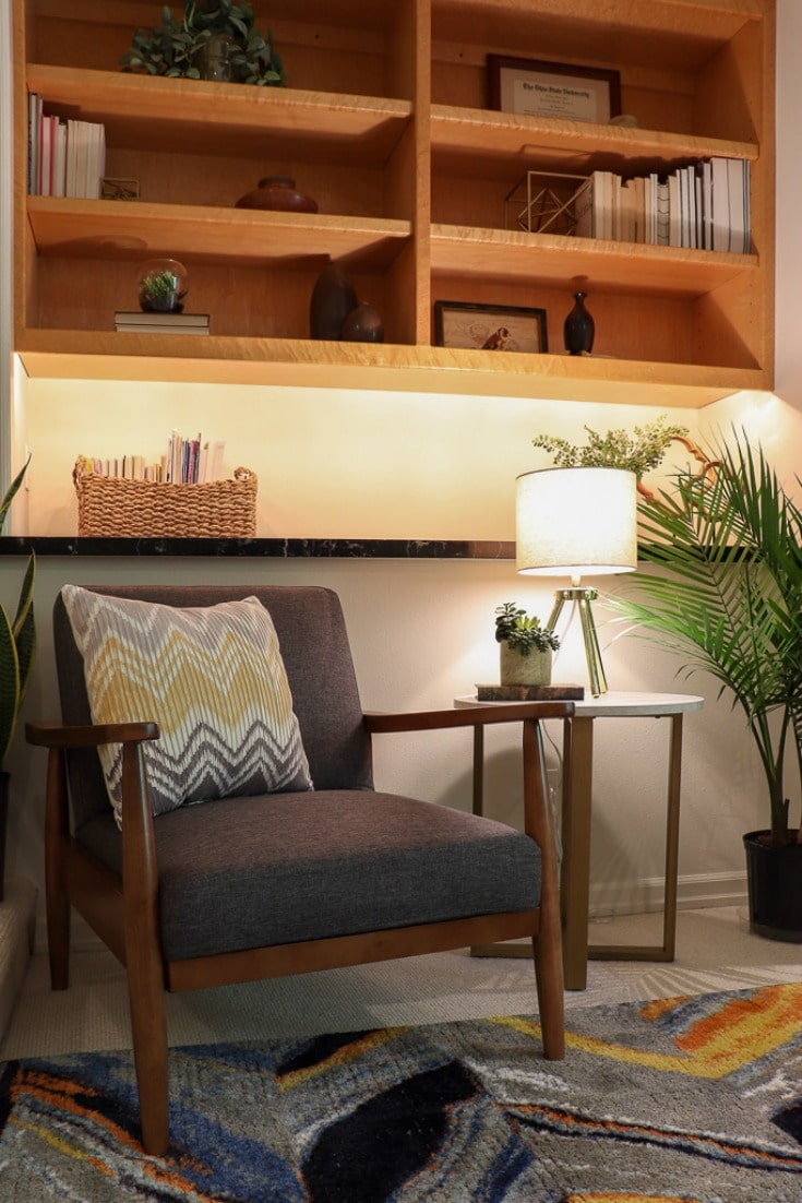 create cozy bedroom corner with new modern decor details that spark joy