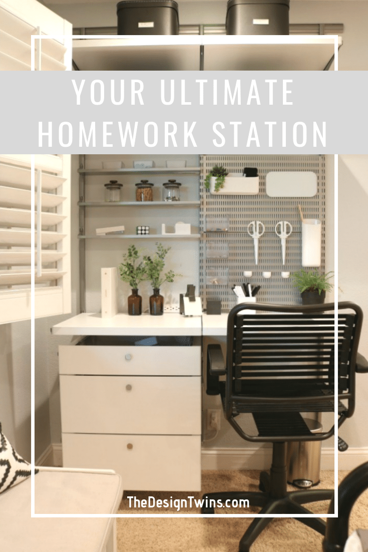Create the Ultimate Homework station for your kids