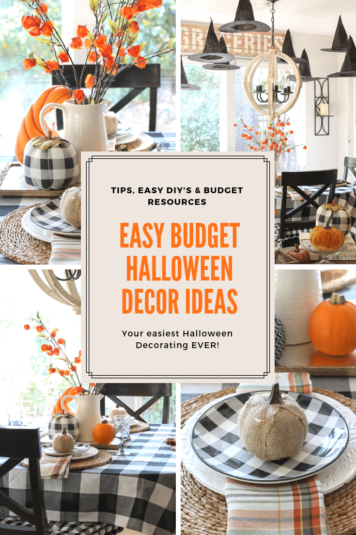 Looking for easy budget-friendly Halloween ideas? We've got tips & tricks and Budget resources to make this your best Halloween ever!