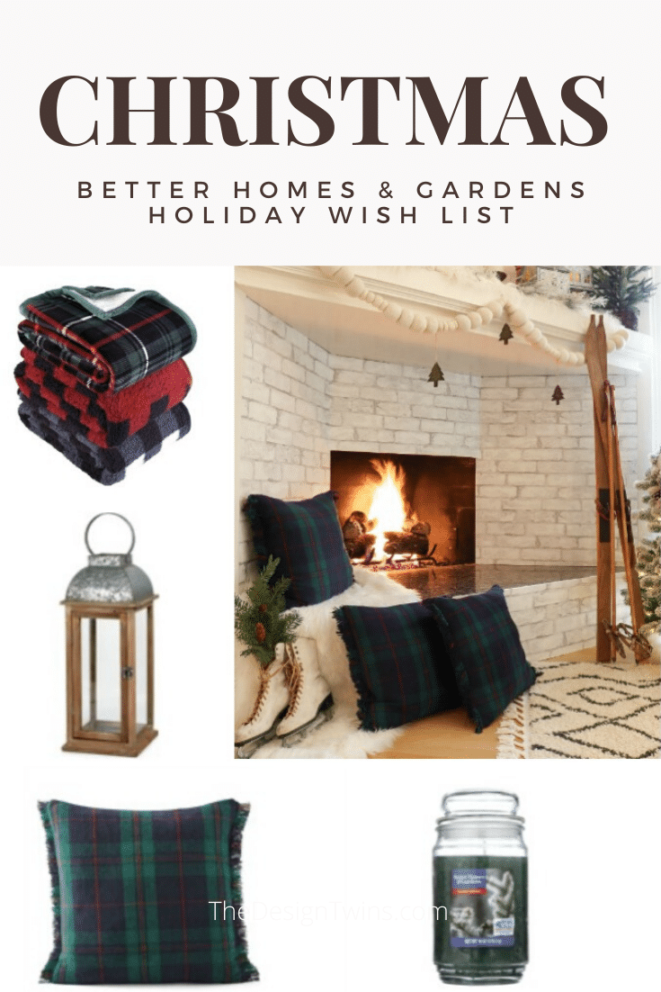 Cozy Christmas holiday shopping wish list for your budget Christmas decorating