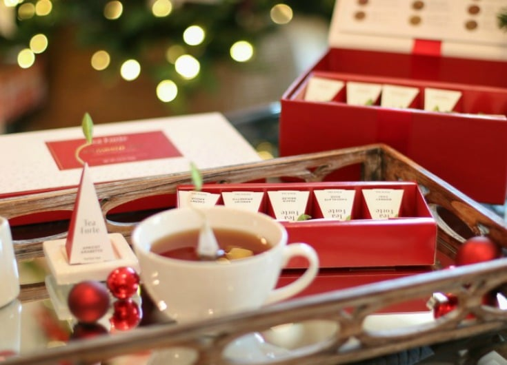 Relax and enjoy the best of the holiday season when you serve Warming Joy tea by Tea Forte.