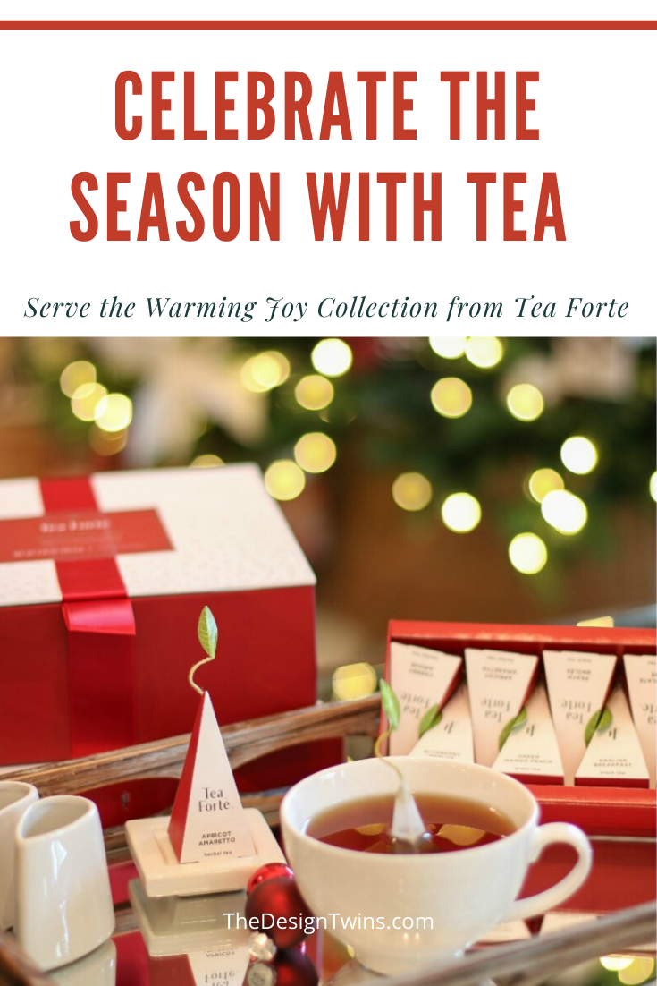 Celebrate the holiday season with beautiful delicious tea from the Warming Joy collection from Tea Forte