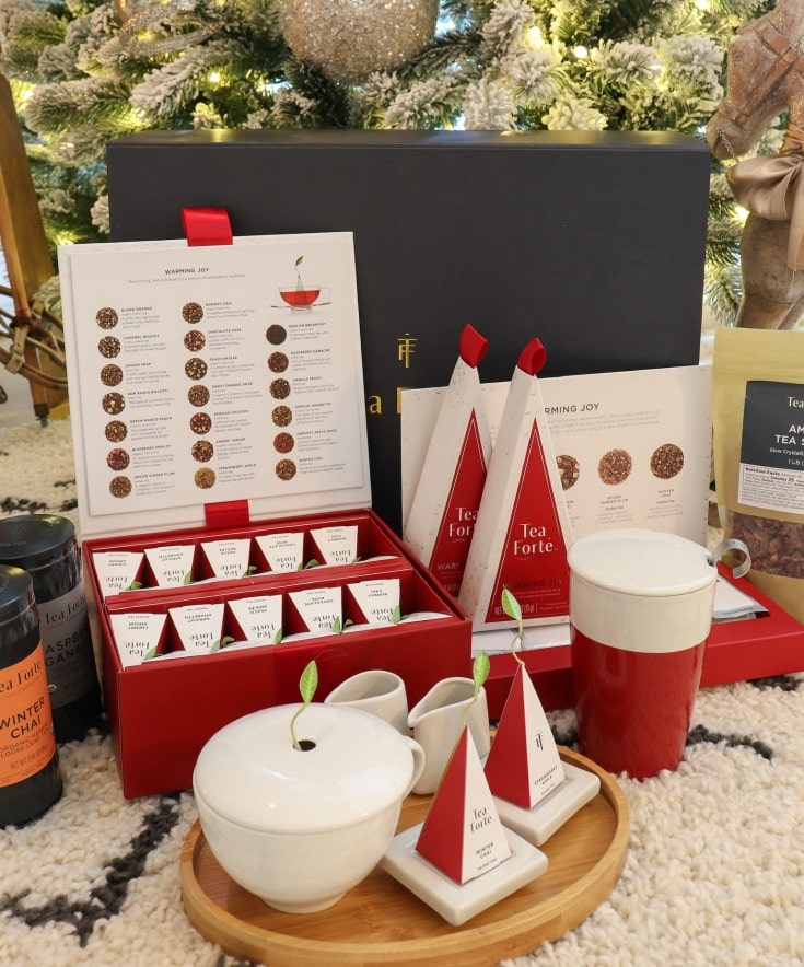 Tea Forte's Warming Joy Collection makes the perfect gift or stocking stuffer