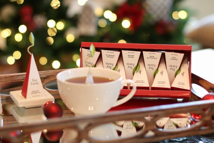 Give the magic of Christmas when you gift Warming Joy tea from Tea Forte.