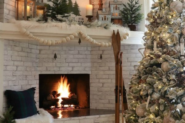Create a rustic cozy Christmas this year with our budget decorating tips