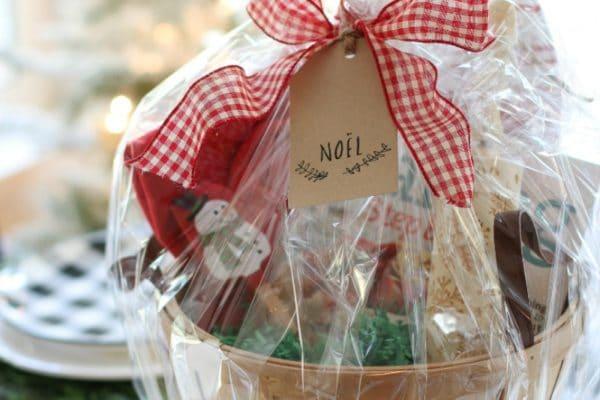 learn how to put together the perfect beginner baker's Christmas gift basket