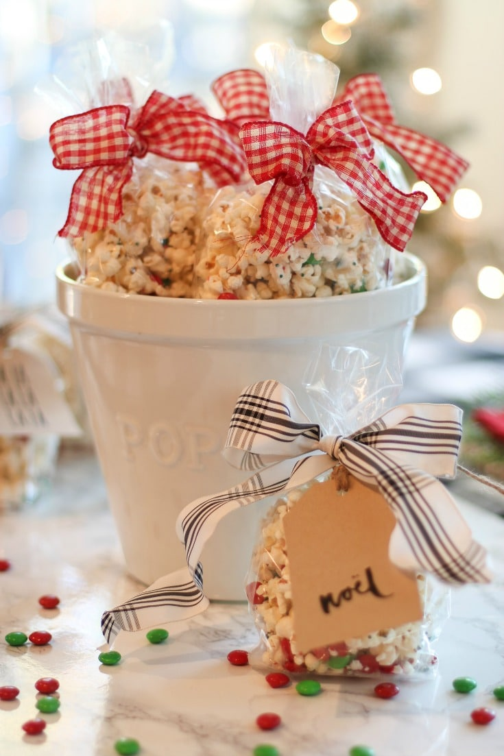 your holiday gift basket isn't complete without this delicious popcorn recipe