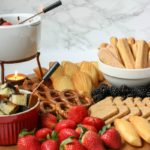 How to Create the Perfect Chocolate Fondue Charcuterie Board