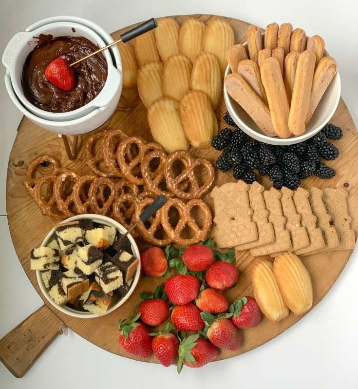 learn how to take gorgeous photos of your dessert chocolate fondue charcuterie board