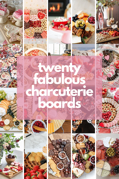 20 different charcuterie board ideas to choose from include dessert, traditional meat and cheese and fondue boards