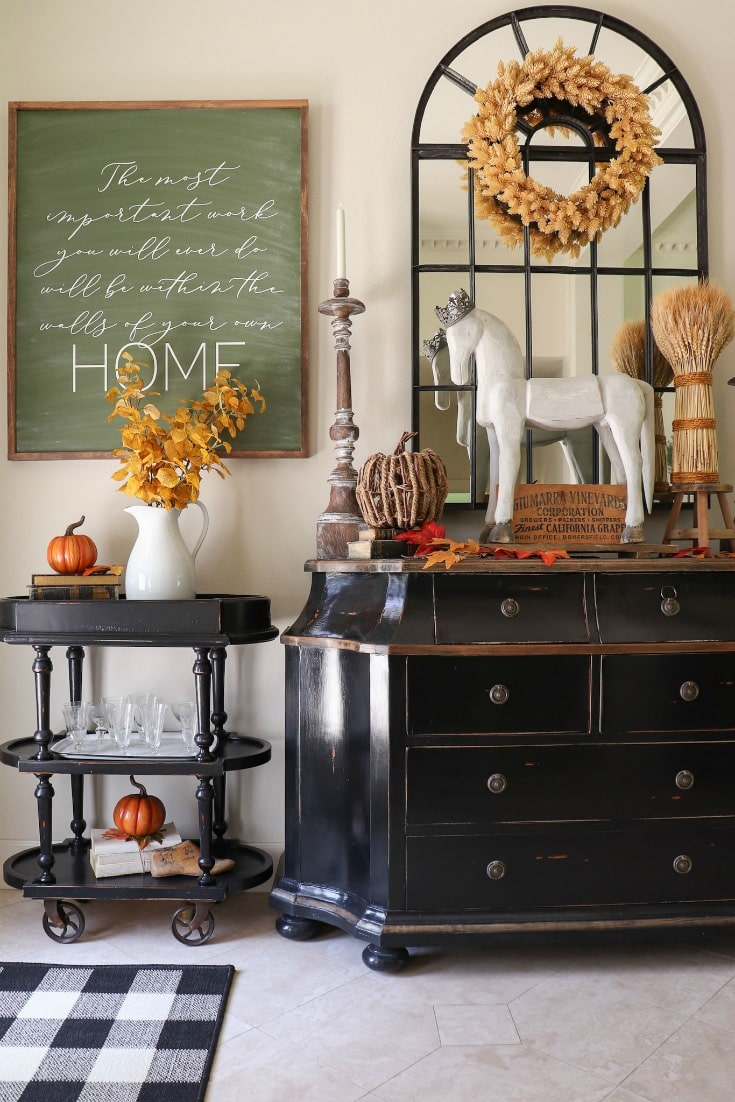 fall front entryway decor tips