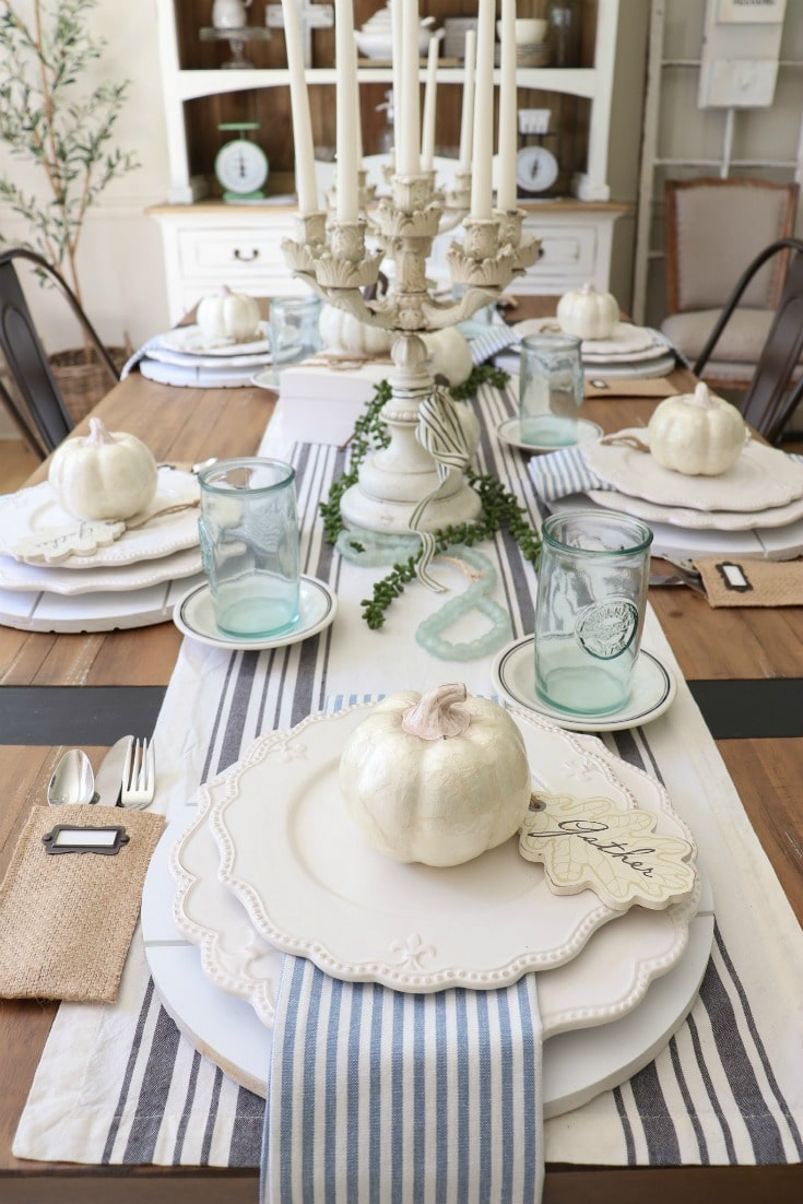 creative fall decor tips for decorating a fall table