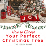 the perfect artificial christmas tree