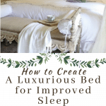 luxurious bed for better sleep
