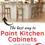 before and after kitchen cabinet transformation