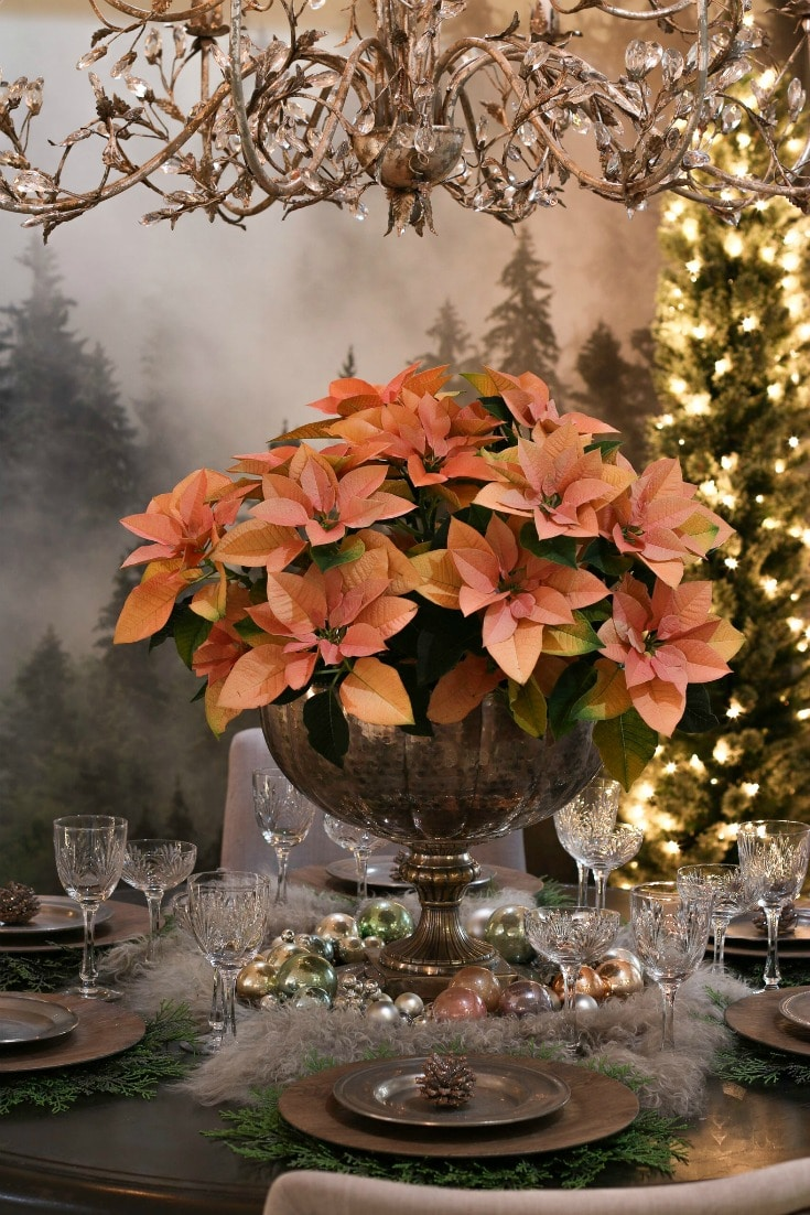 elegant floral dining table centerpiece