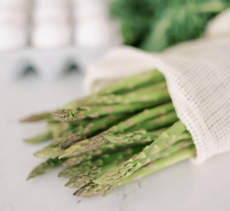 fresh asparagus is wonderful source of nutrition to eat healthy