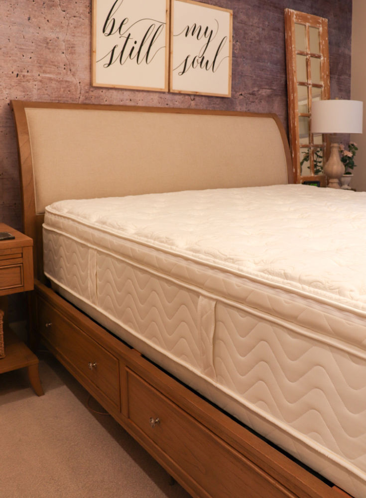 before bedding on quality sleigh bed