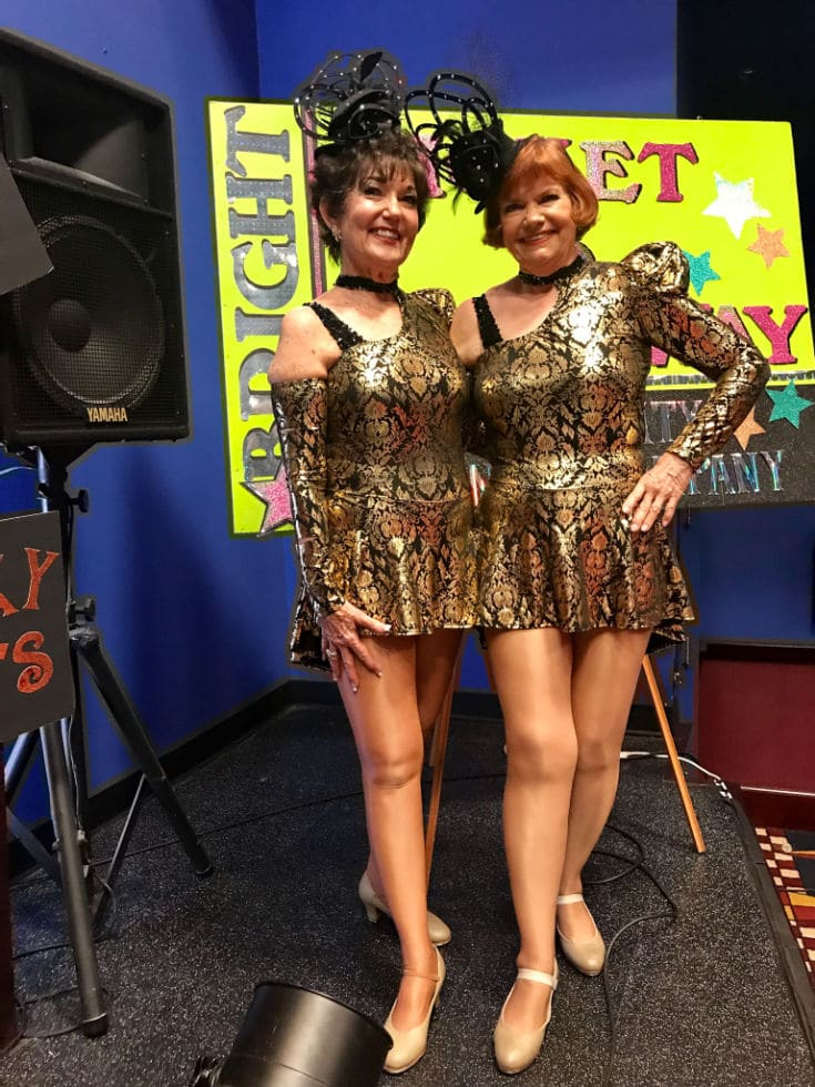 80 year old tap dancing ladies show how to live healthy active lives!
