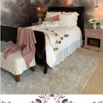 This stunning vintage bedroom makeover will have you inspired to get started on your own transformation!