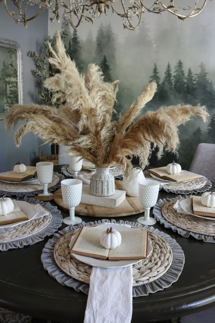 beautiful natural pampas grass is elegant and trending